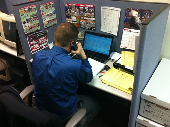 Mike Johnson on phone.JPG