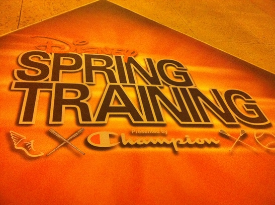Disney Spring Training Ground Sign.JPG