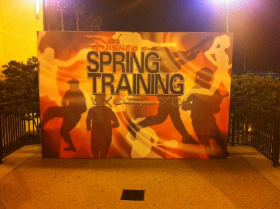 Disney Spring Training Wall.JPG