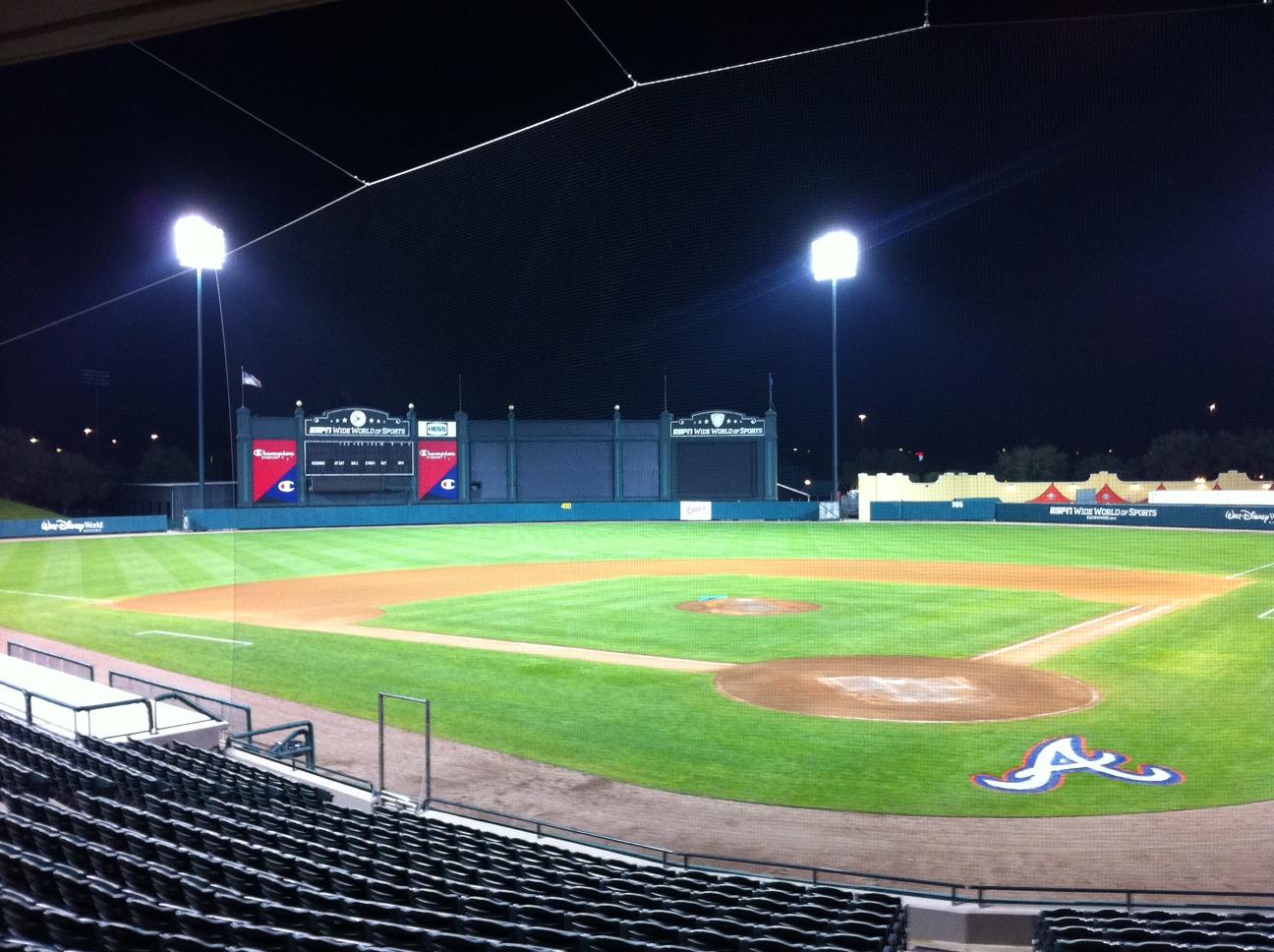 Cool Baseball Field At...