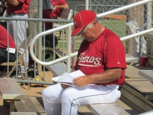 Former 'Cats pitching coach Gary Ruby. He will serve as pitching coach for Double-A Corpus Christi this season.