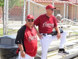 Special assistant to the GM, Matt Galante and minor league pitching coordinator Jon Matlack. Both former members of the New York Mets.