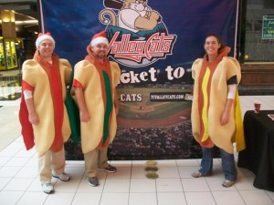 Hot Dogs Backdrop Mall