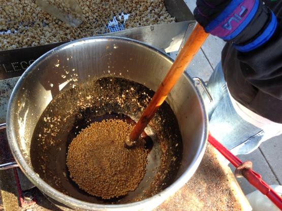 Kettlecorn Mixing2