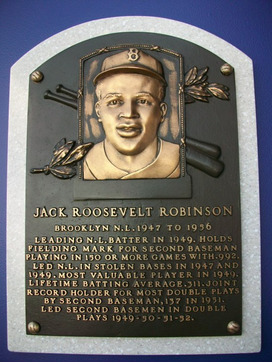 Jackie Robinson Original Plaque