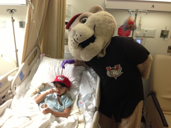 SouthPaw Childrens Hospital Child Visit