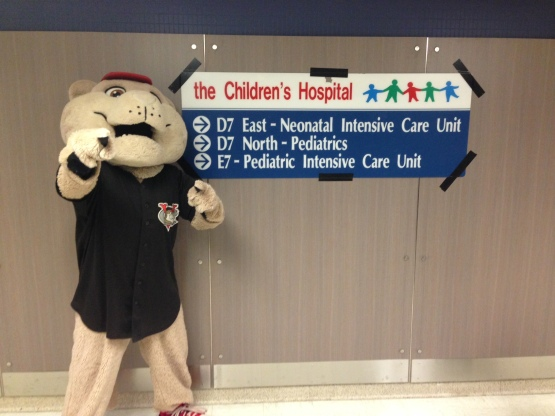SouthPaw Childrens Hospital Sign