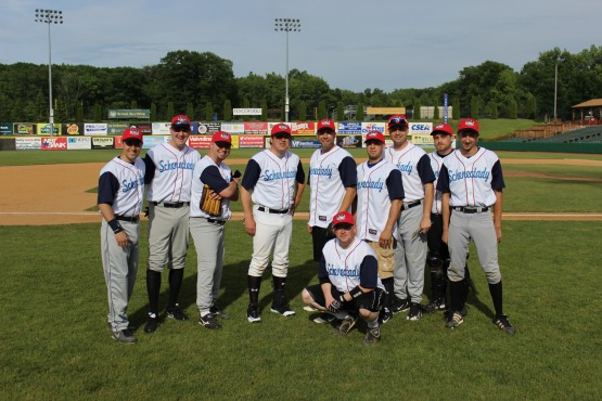 ValleyCats Media team photo