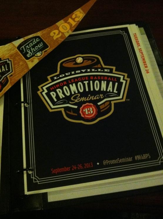 MiLB Promo Seminar Agenda