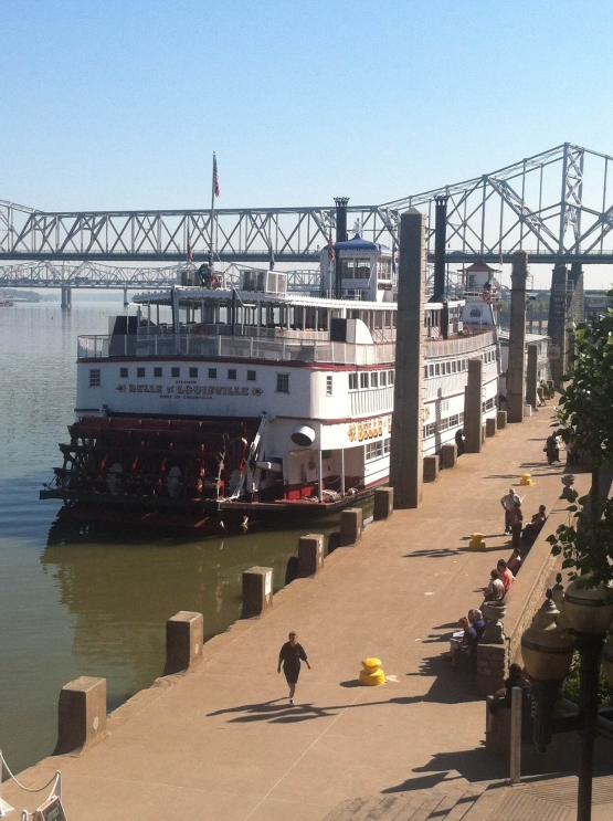 The Belle of Louisville Steamship