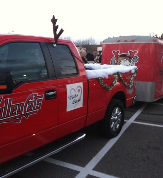 Pickup Truck Reindeer