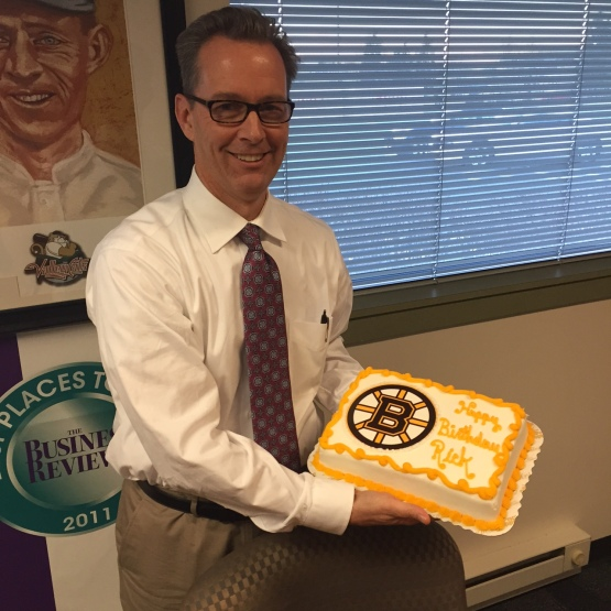 Rick Bruins Birthday Cake