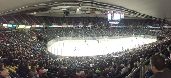 Over 8,400 fans witnessed RPI defeat the Union Dutchmen 5-2 at the Times Union Center.