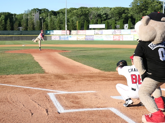 One of the seven first pitch participants from Wednesday night!