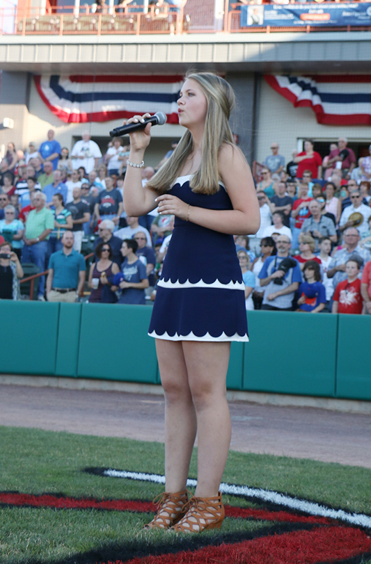 LAURA HANEY ANTHEM SINGER
