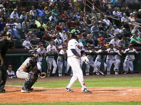 Right fielder Ronnie Dawson hit a two-run home run over the right field wall, leading the ValleyCats to a 2-0 victory over the visiting Connecticut Tigers.