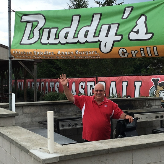BUDDY CARUSO AT BUDDYS GRILL