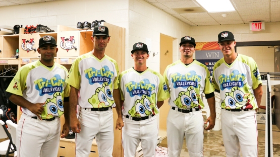 PITCHERS WEARING NICKELODEON JERSEYS